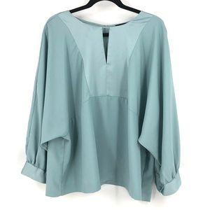 J Crew plus size dolman sleeved blouse 3X